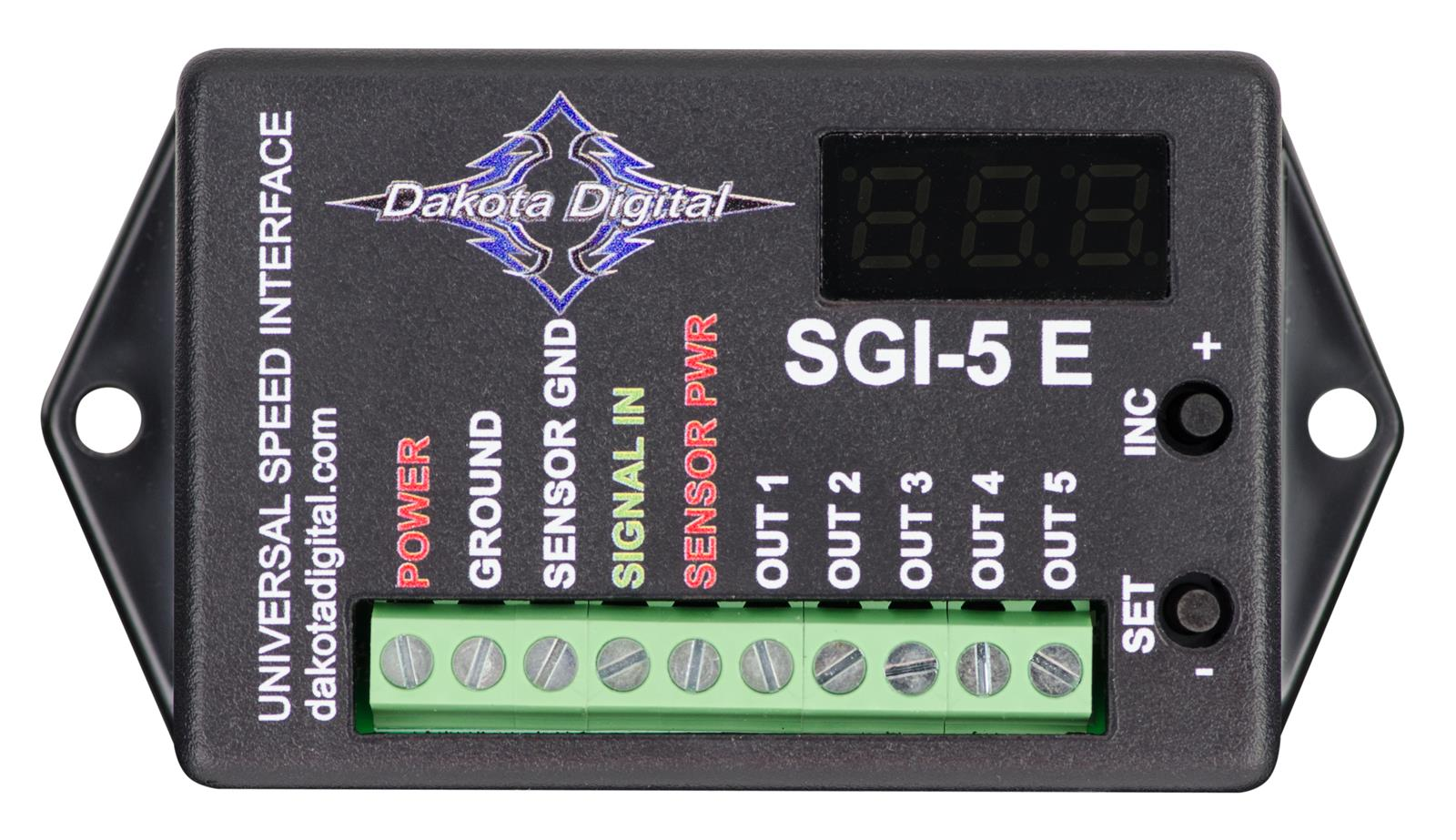 dak sgi 5e_xl dakota digital sgi 5e universal speedometer signal interfaces sgi dakota digital gss-2000 wiring diagram at mifinder.co