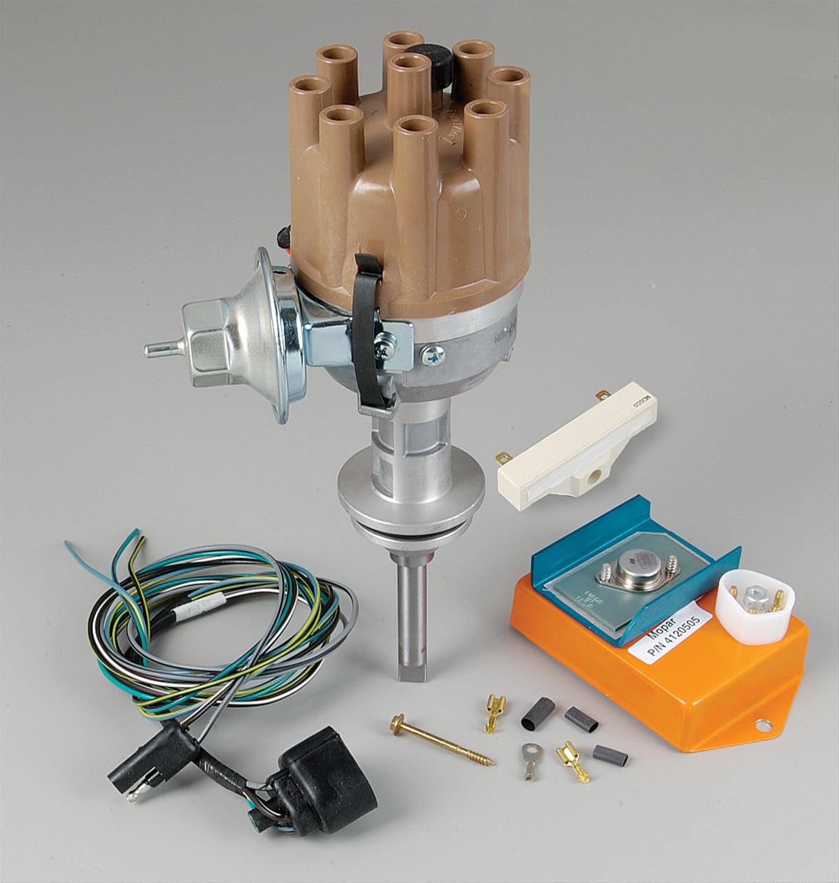 Mopar Performance Electronic Conversion Kits with Distributor 3690428 - Free Shipping on Orders