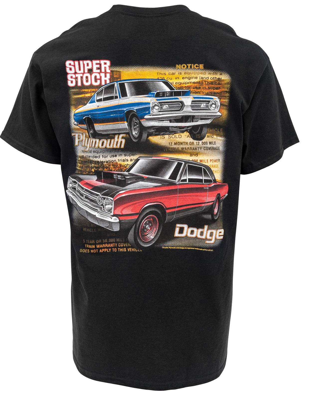 Plymouth Dodge Super Stock T-Shirt 483144