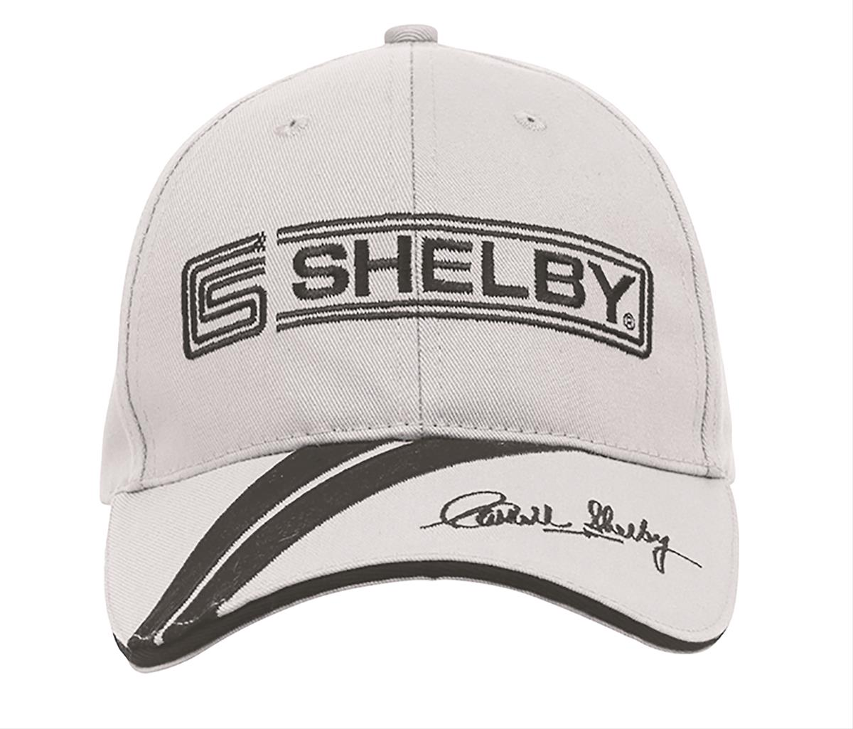 b70d6040fd4a0e Carroll Shelby Autograph Cap 48673 - Free Shipping on Orders Over $99 at  Summit Racing