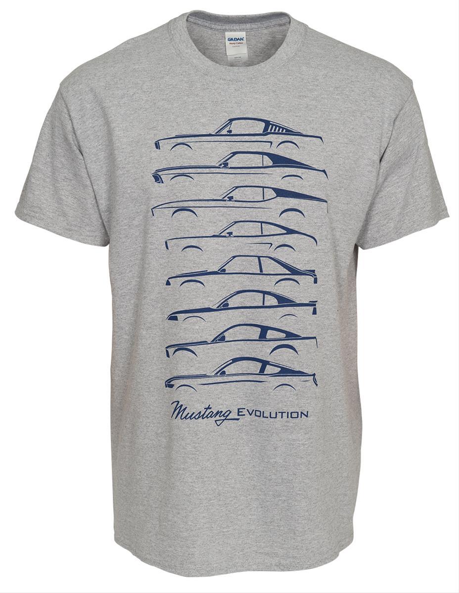 Summit Gifts 489673 Mustang Evolution T-Shirt | Summit Racing