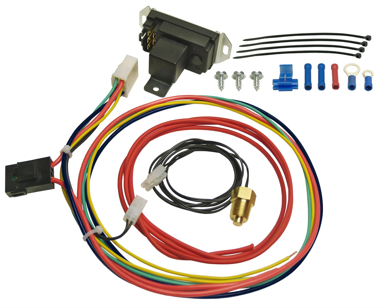 Derale Deluxe Adjustable Controllers With Pipe Threaded Probes 16749 Lincoln Town Car Thermostat Location Free Shipping On Orders Over 99 At Summit Racing