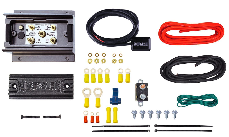 [DIAGRAM_1CA]  Derale PWM Adjustable Fan Controller Kits 16795 | Derale Fan Controller Wiring Diagram |  | Summit Racing