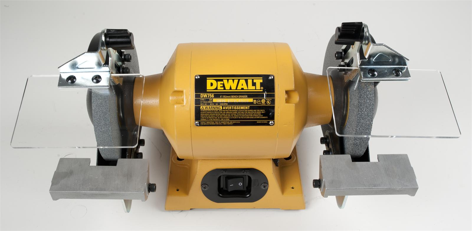 Dewalt Heavy Duty 6 In Bench Grinders Dw756 Free Shipping On Orders Over 99 At Summit Racing