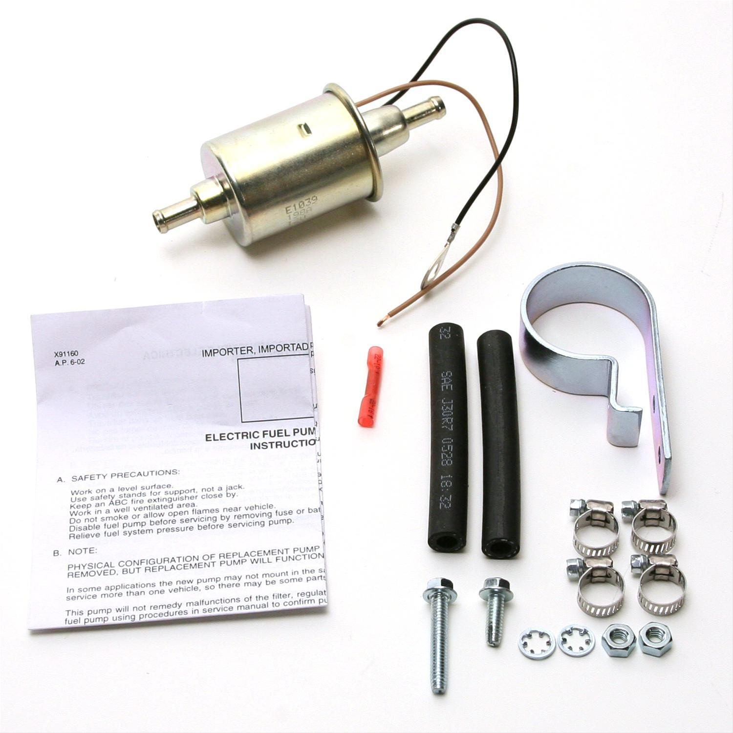Delphi Electric Fuel Pumps Fd0002 Free Shipping On Orders Over 99 Universal Pump Wiring Schematic At Summit Racing