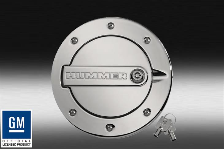 Defenderworx Fuel Door H2ppc08030 Chrome Lockable Hummer