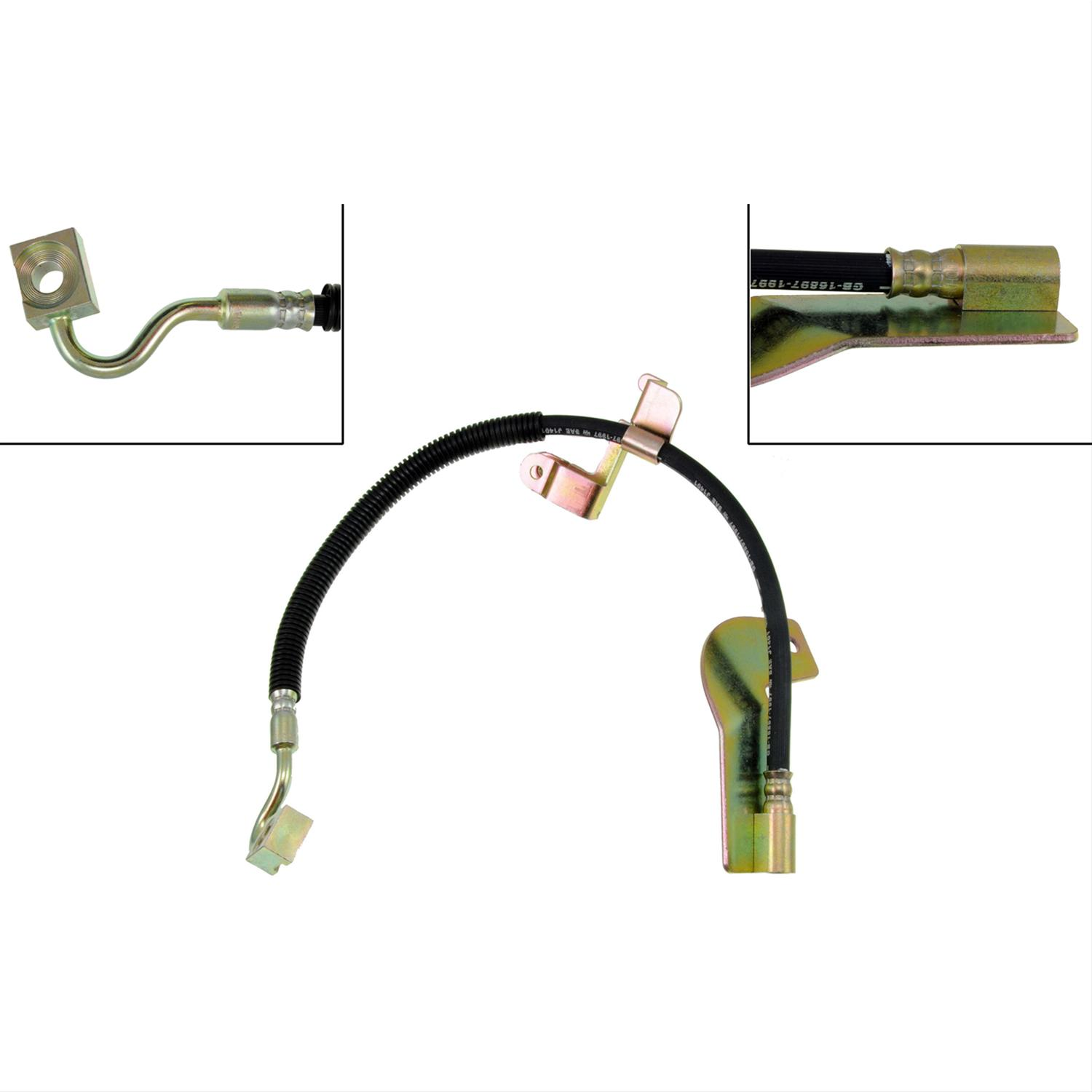 Hoses Dorman H381309 Hydraulic Brake Hose Replacement Parts