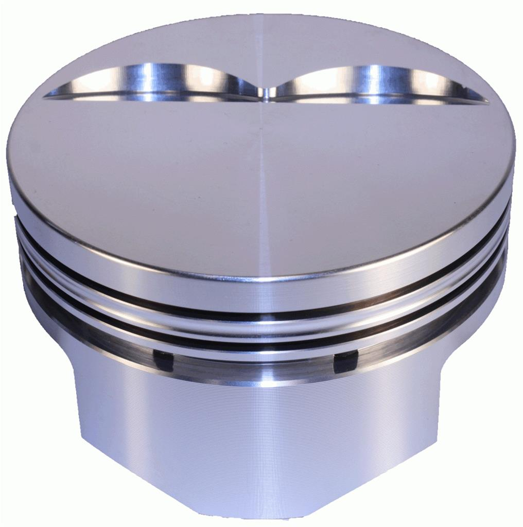 DSS Racing Pistons Forged Flat 4.040 In. Bore 383 Chevy