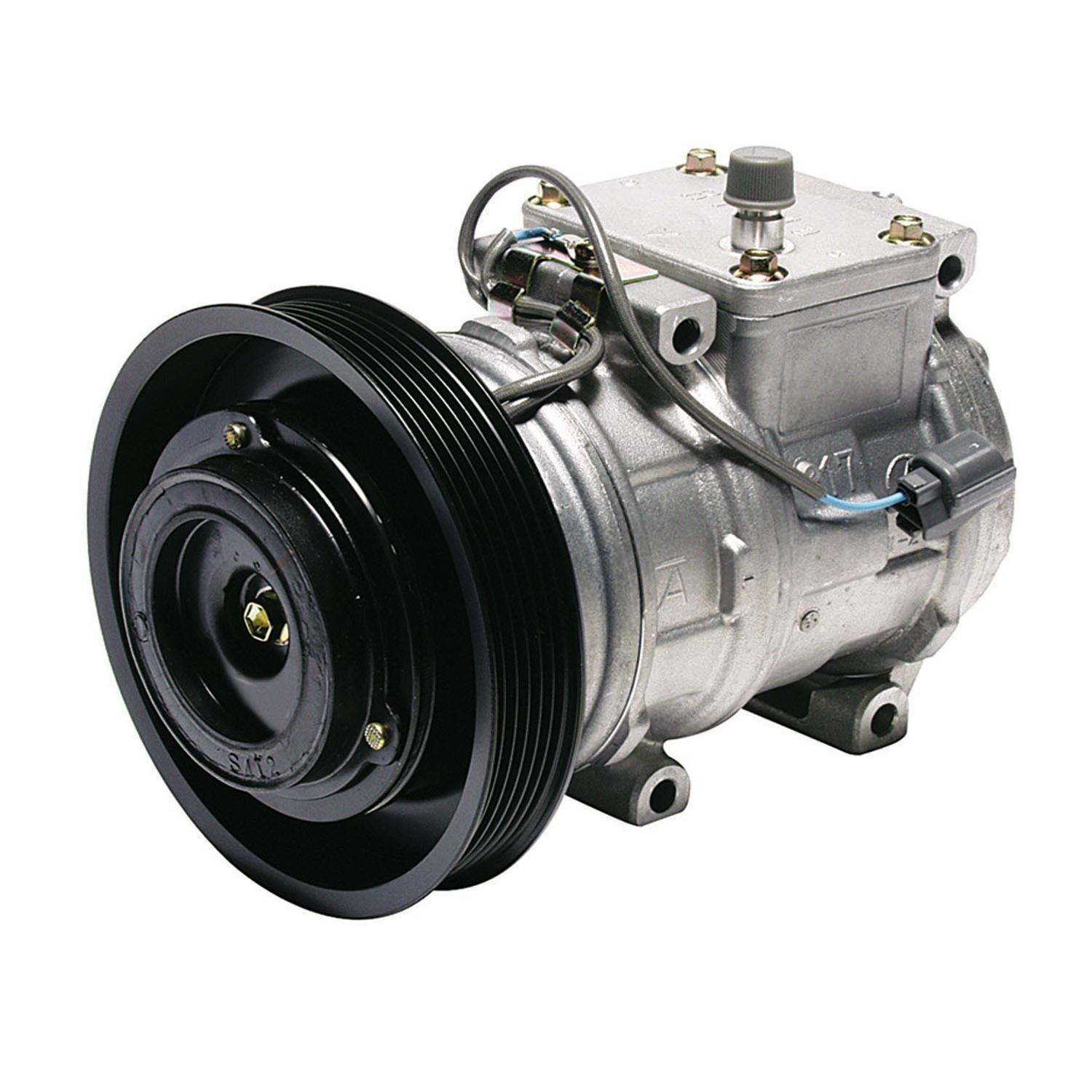 Denso 471-1189 New Compressor with Clutch Replacement Parts ...