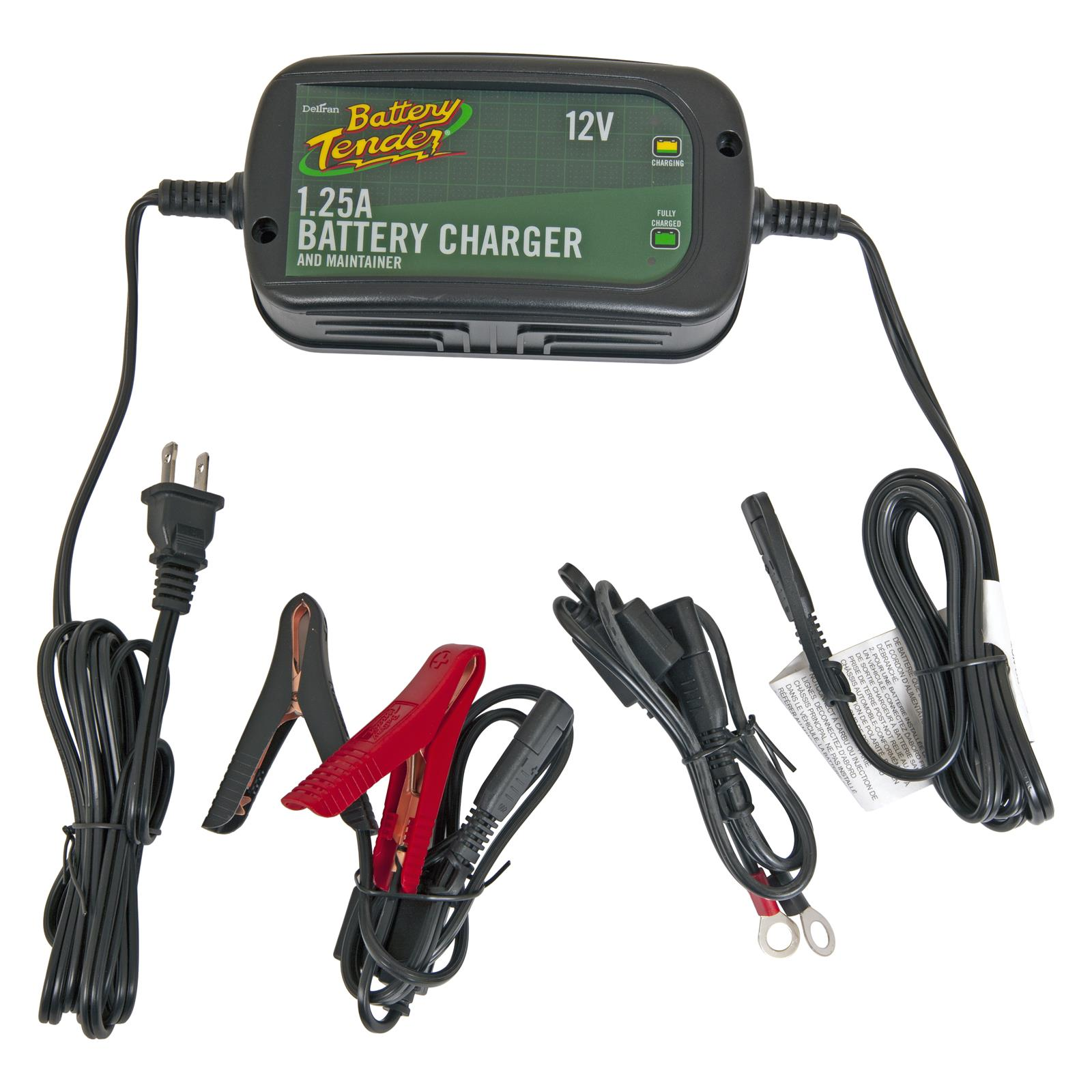 Deltran Battery Tender Plus High Efficiency Chargers 022-0185G-DL-WH