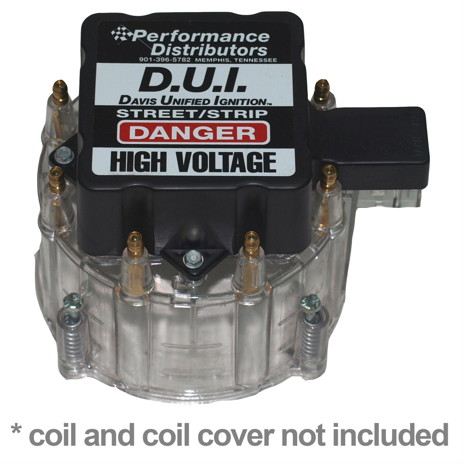 fit Clear Chevy Pontiac Buick Olds V8 HEI Performane Distributor Cap /& Rotor kit