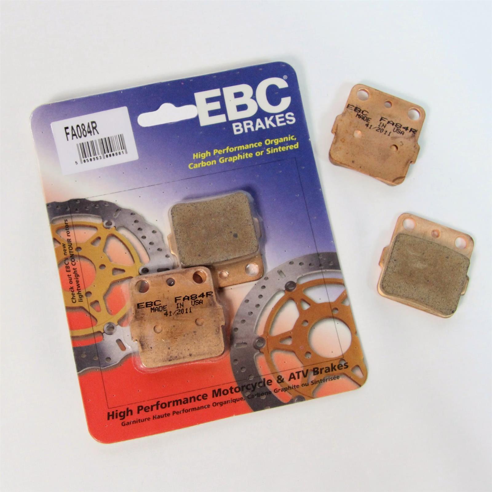EBC Brakes R Series Long Life Sintered Brake Pads FA84R