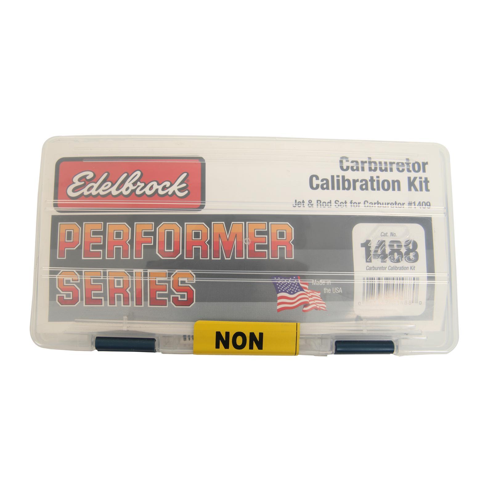 Performer Series Carburetor Calibration Kits 1486 Edelbrock  EDELBROCK