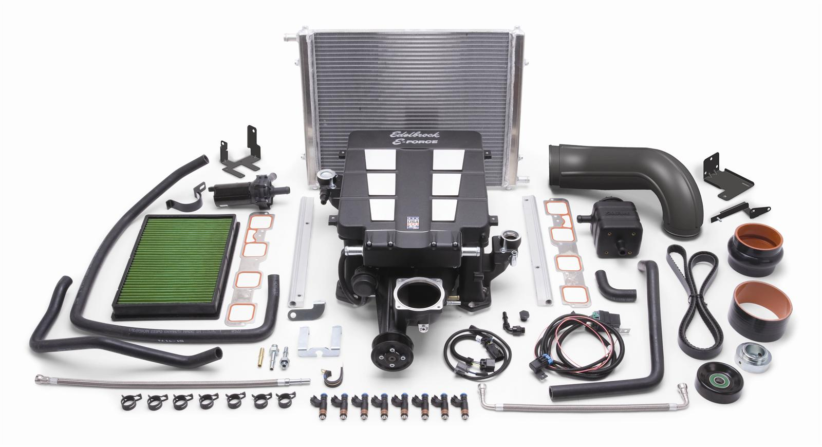 Edelbrock E-Force Ram Trucks Stage 1 Street Legal Supercharger Systems 1538  - Free Shipping on Orders Over $99 at Summit Racing
