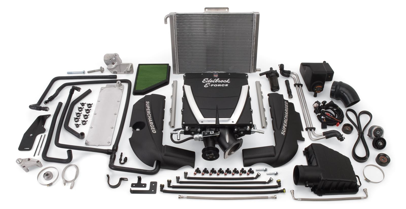 Edelbrock E-Force Universal Supercharger Systems for Engine Swaps 15450