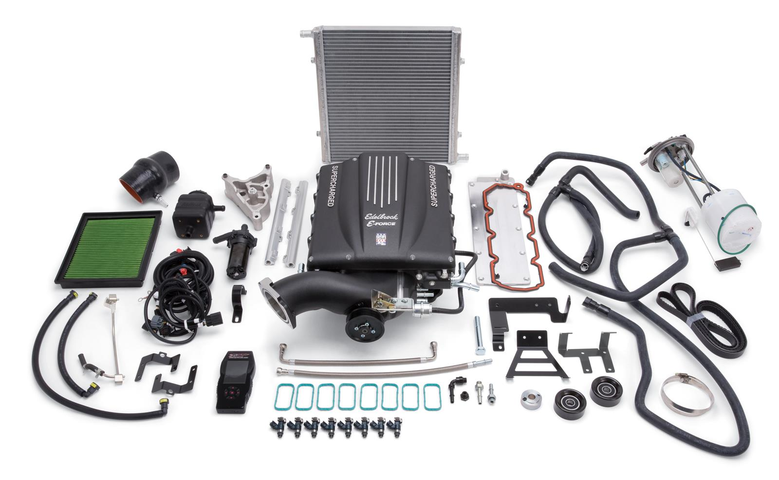 Edelbrock E-Force GM Truck and SUV Stage 1 Street Legal Supercharger Kits  1560