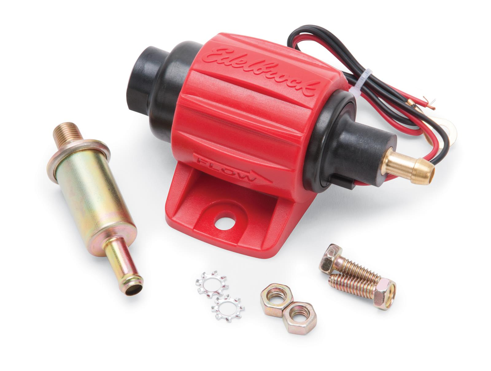 Edelbrock Universal Micro Electric Fuel Pumps 17303 - Free Shipping on  Orders Over $99 at Summit Racing