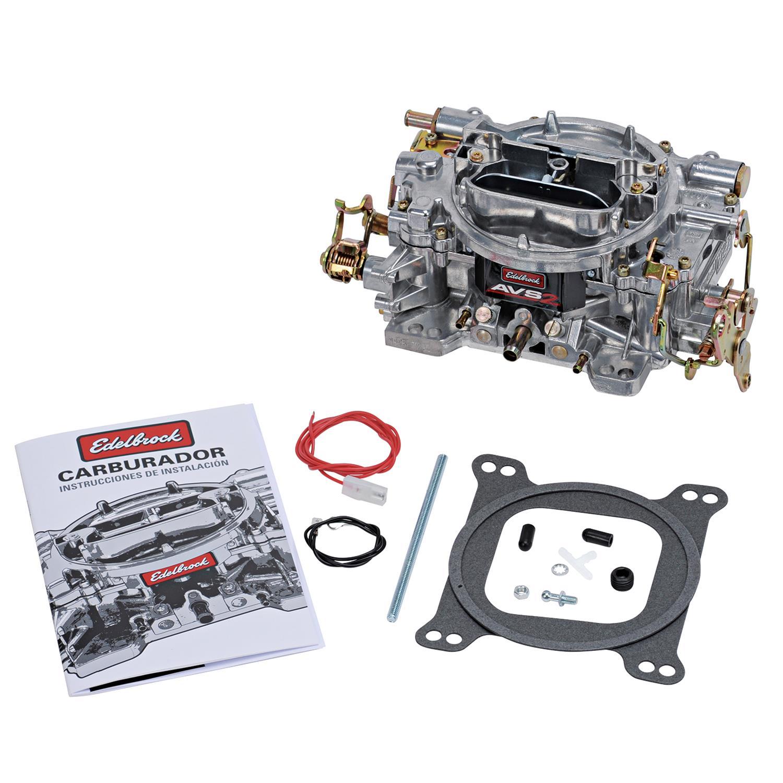Edelbrock 8005 Throttle Return Spring Natural Dual Spring Bracket Universal Kit