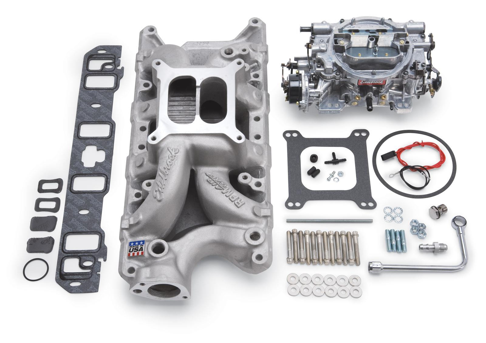 Edelbrock Performer RPM Air-Gap Intake Manifold and