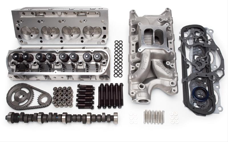 Edelbrock Total Power Package 418 HP FE Ford Top-End Engine Kits 2044