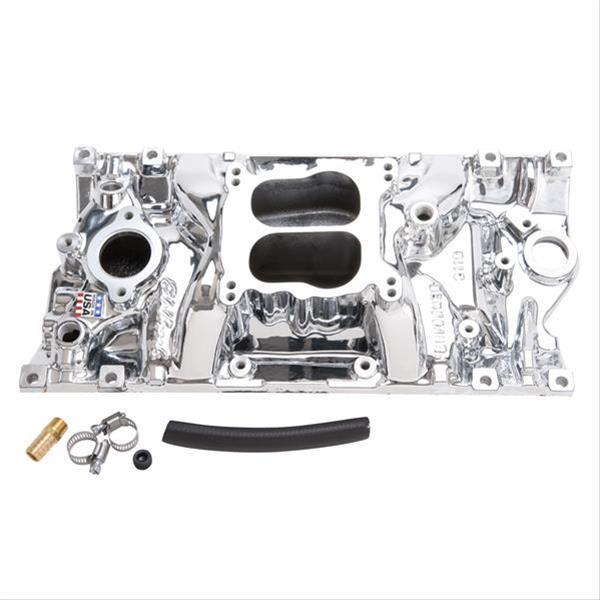 Edelbrock Performer Vortec Intake Manifold 21164 SBC Fits