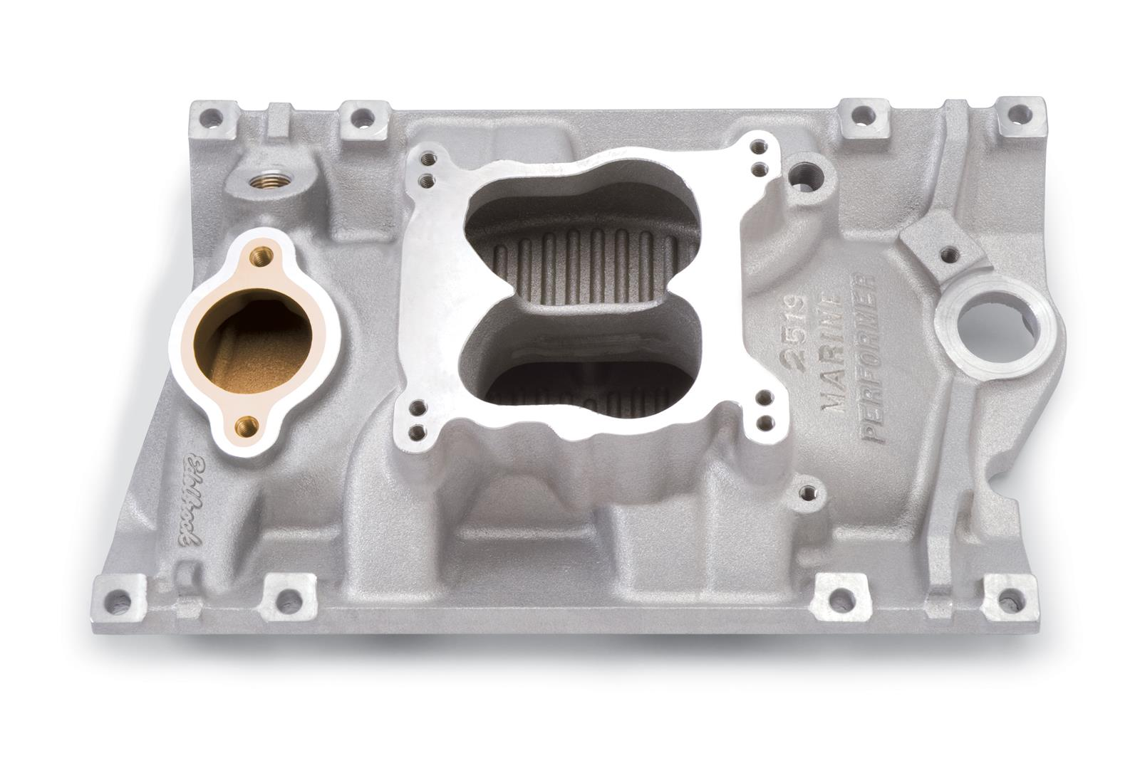 Edelbrock Performer Vortec Intake Manifolds 2519 - Free Shipping on Orders  Over $99 at Summit Racing