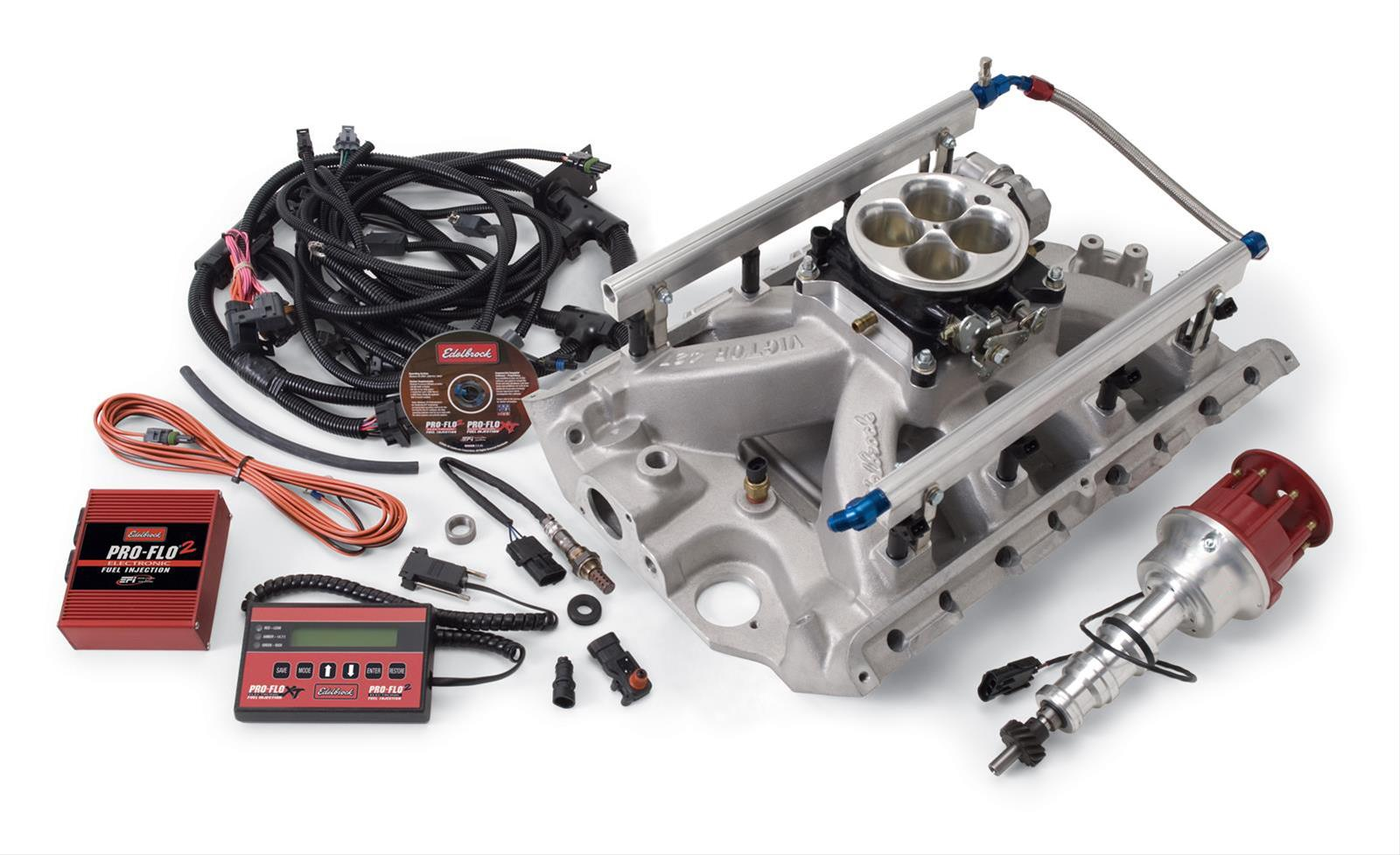 edl 35430_xl ford fe edelbrock fuel injection conversion aluminum 390 engine Edelbrock Crate Engines at nearapp.co