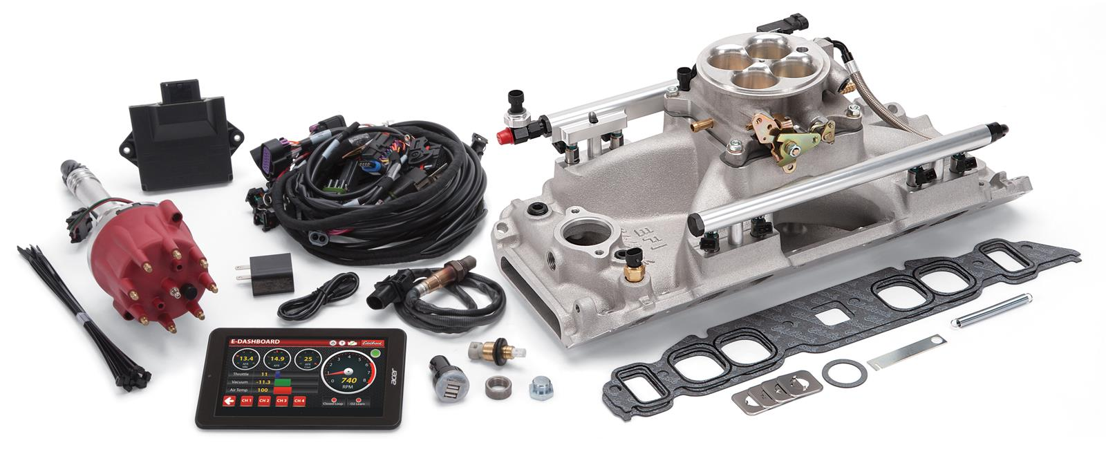Edelbrock Pro Flo 4 Efi Systems 35840 Free Shipping On Orders Over Ls1 Controller Wiring Diagram 99 At Summit Racing