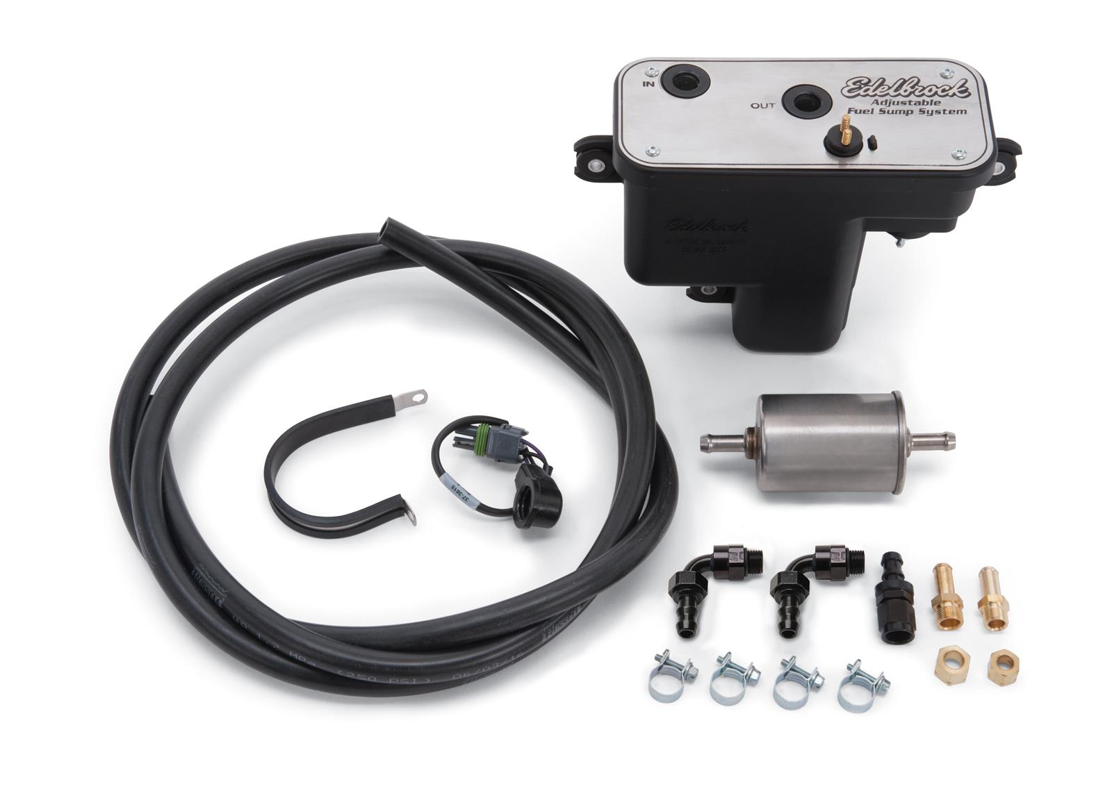 Edelbrock Universal Efi Sump Fuel Systems 36031 Free Shipping On Orders Over 99 At Summit Racing