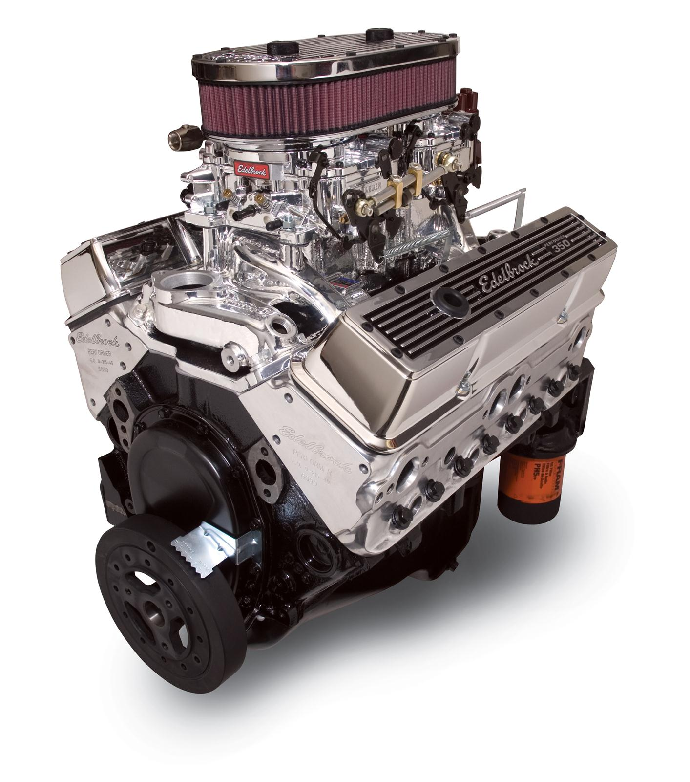 edelbrock performer dual quad 350 c i d 315 hp long block crate 350 engine rebuild edelbrock performer dual quad 350 c i d 315 hp long block crate engines 45014 free shipping on orders over $99 at summit racing