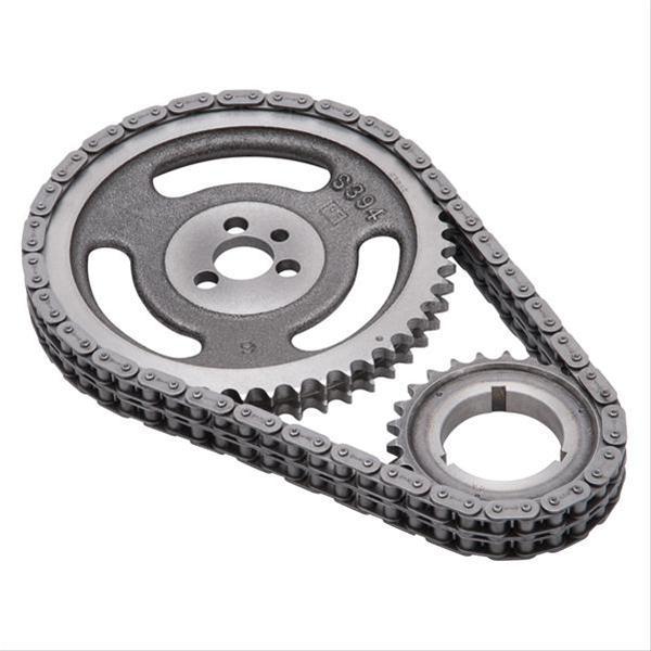 Summit Cam Bearing Tool: Edelbrock Performer-Link True Roller Timing Chain Set 7810
