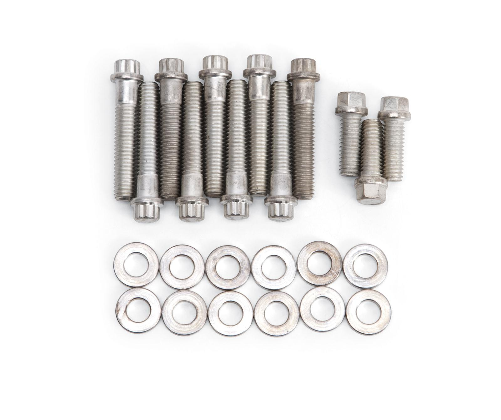 Oldsmobile 330-455 Stainless Steel Intake Manifold Bolt Kit NEW