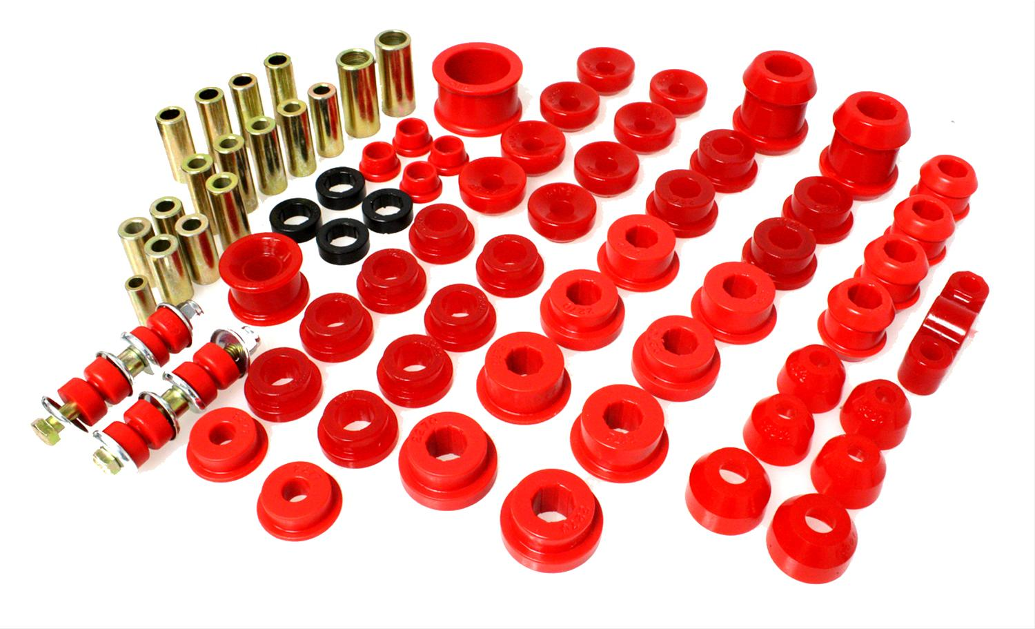 Energy Suspension Motor Mounts Polyurethane Red Fits For Honda Civic Del Sol