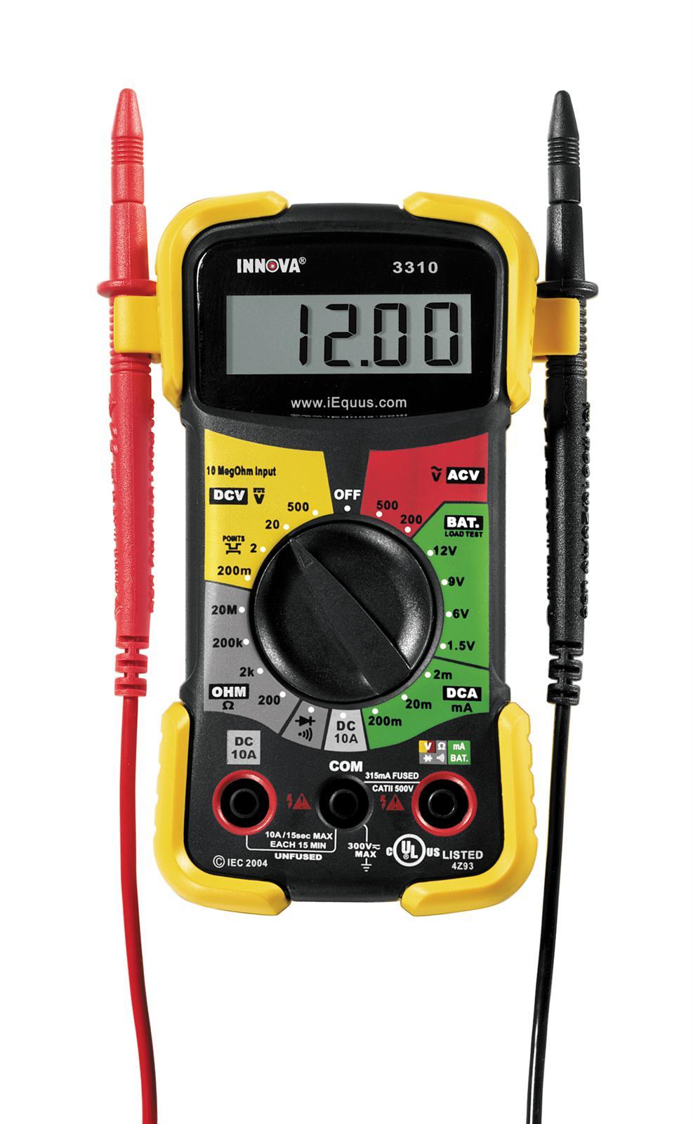 Summit Digital Meters : Innova multimeter related keywords