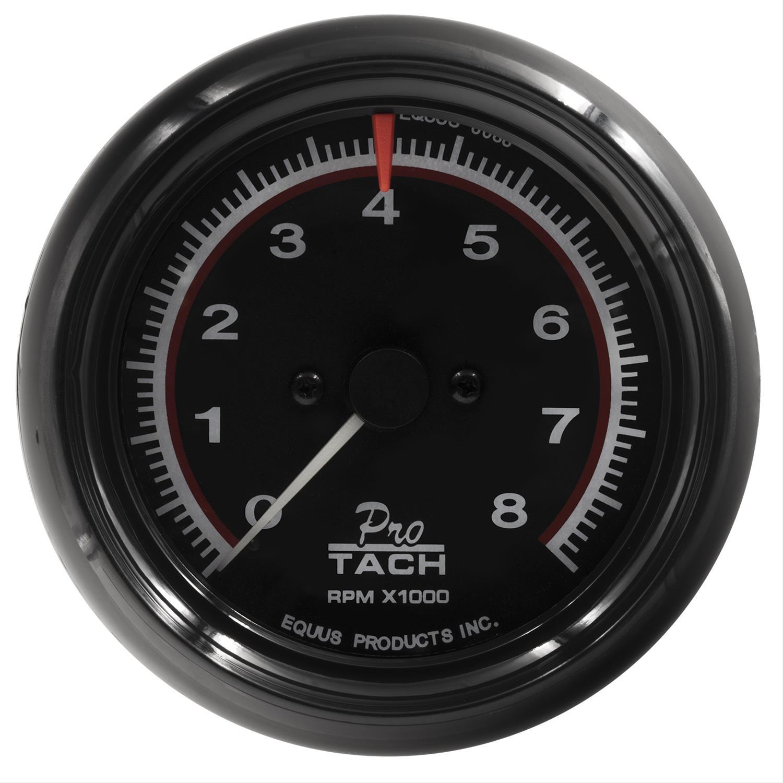 Equus 6088 Tachometer 6000 Series 0 8in Dia