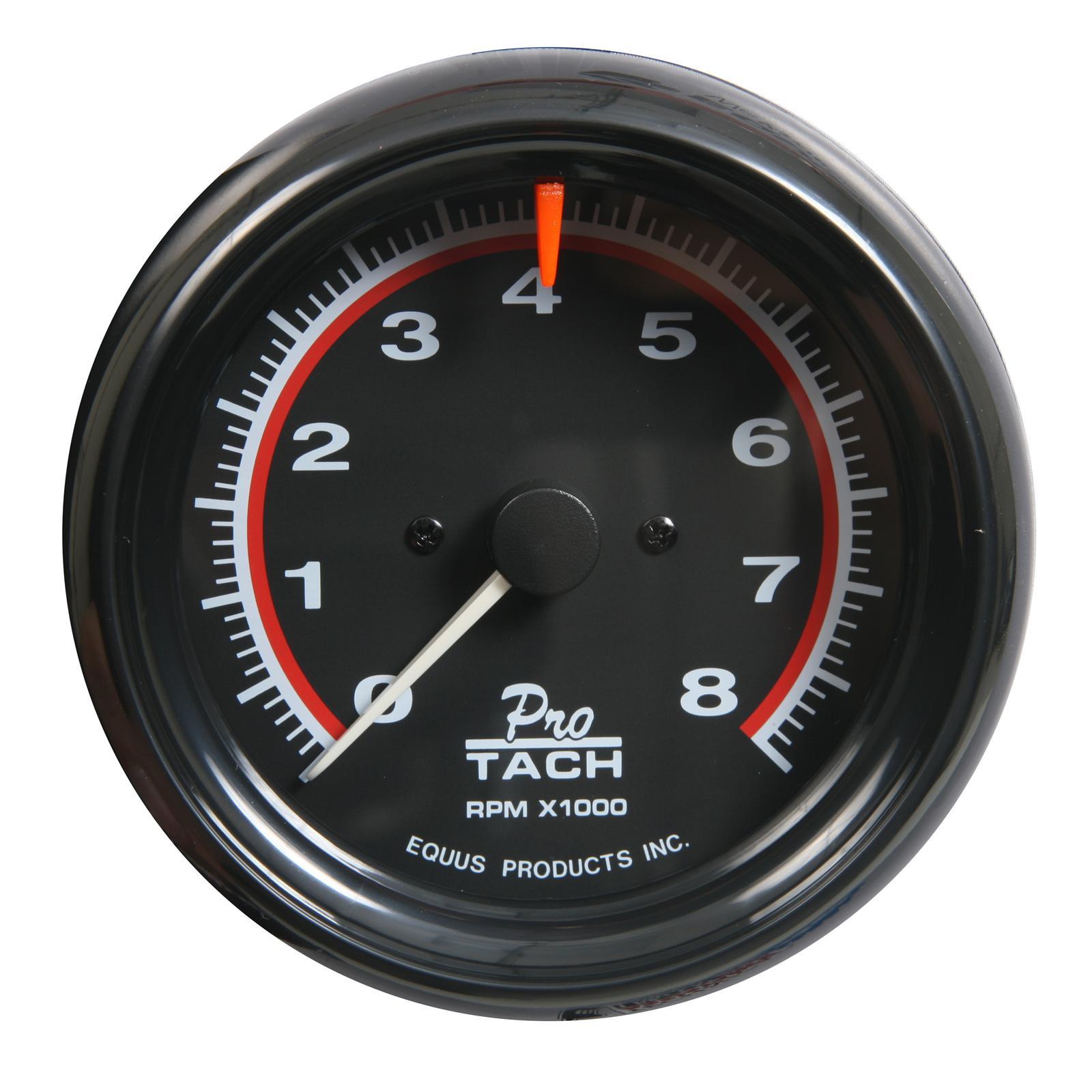 equus tachometer 6088 | ebay equus pro tach wiring