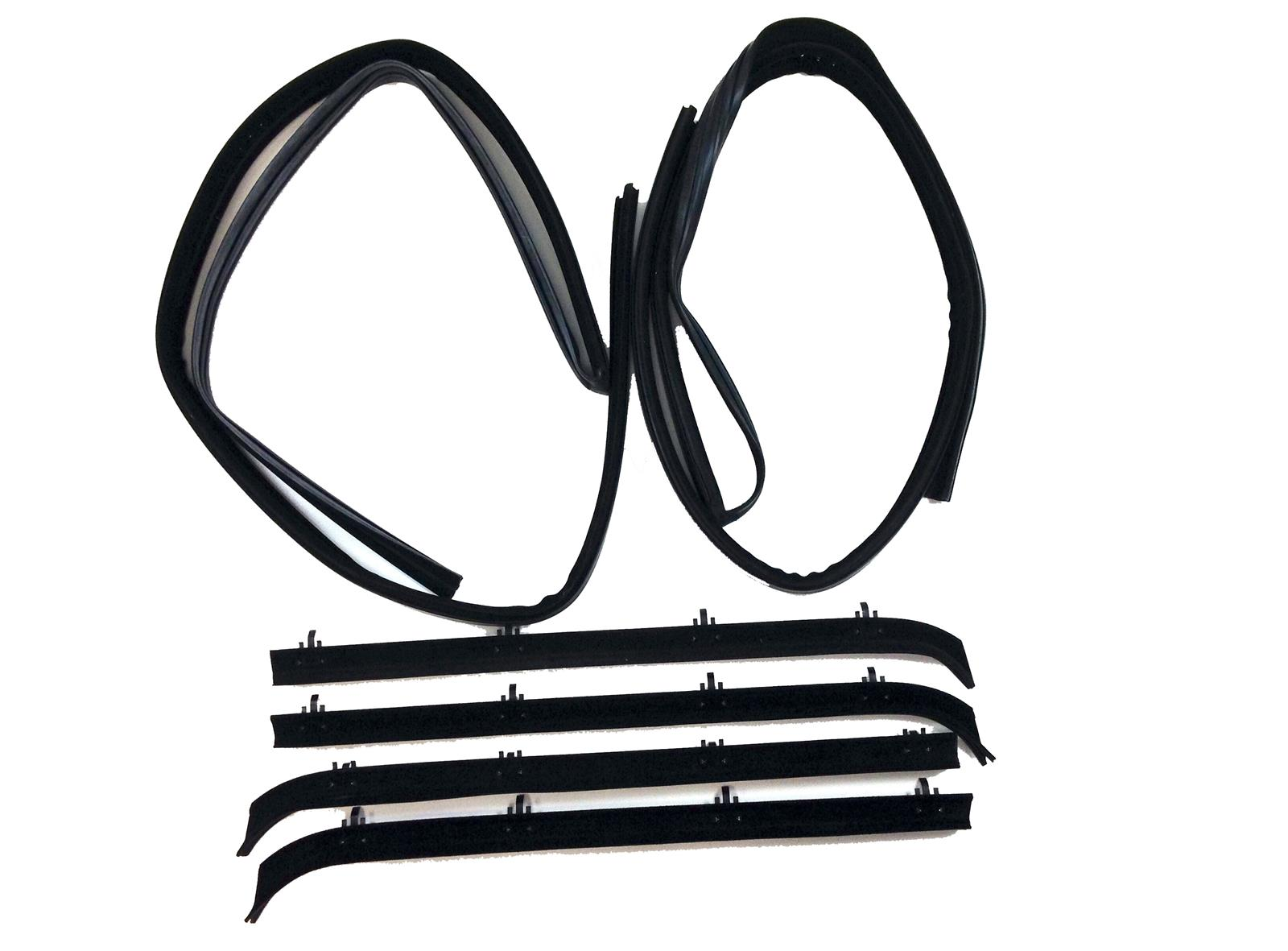 Metro Supersoft RKB1300-100 Weatherstrip Kit Kit GMC Chevy