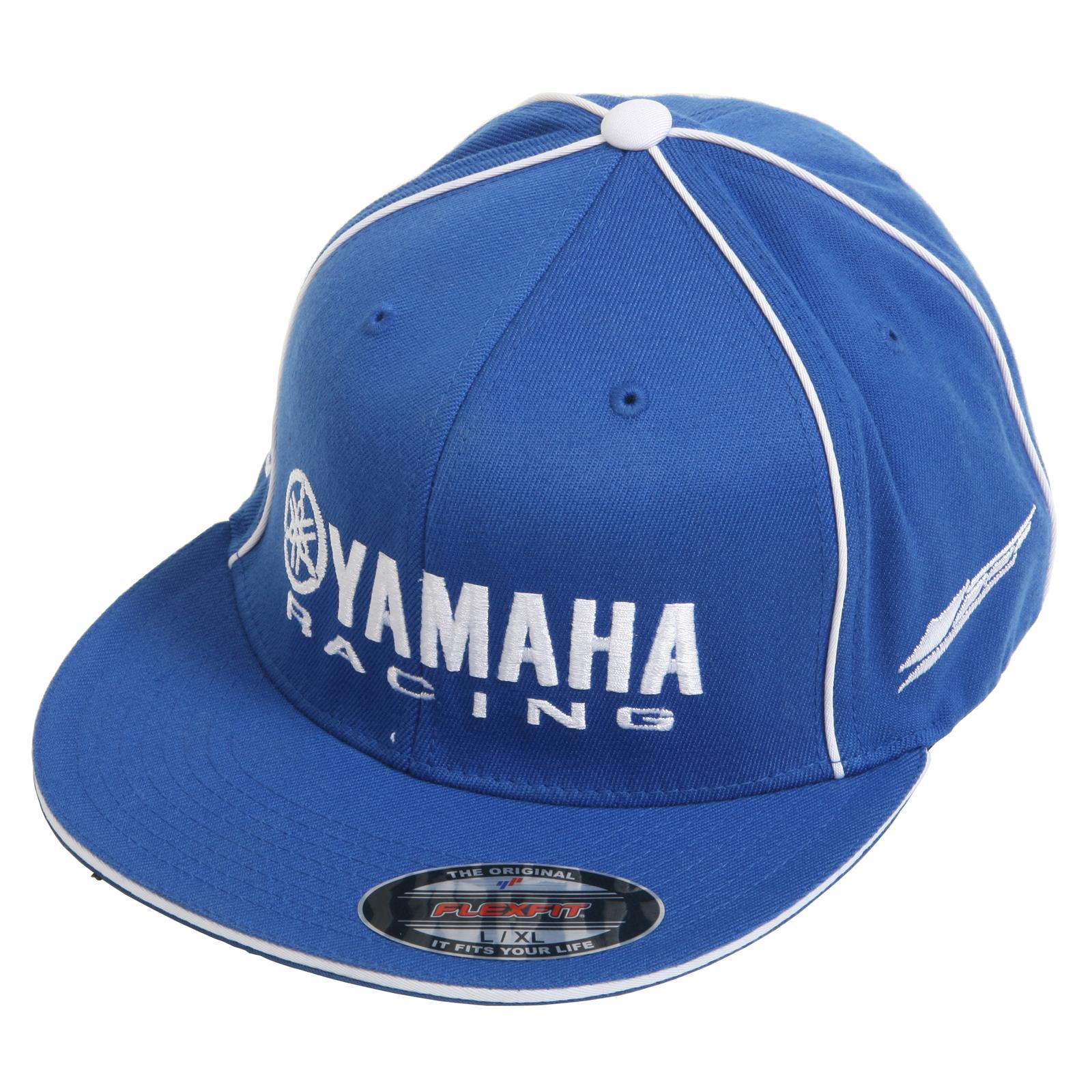 38986c758469d Factory Effex Yamaha Racing Flexfit Hats 12-88072 - Free Shipping on Orders  Over  99 at Summit Racing