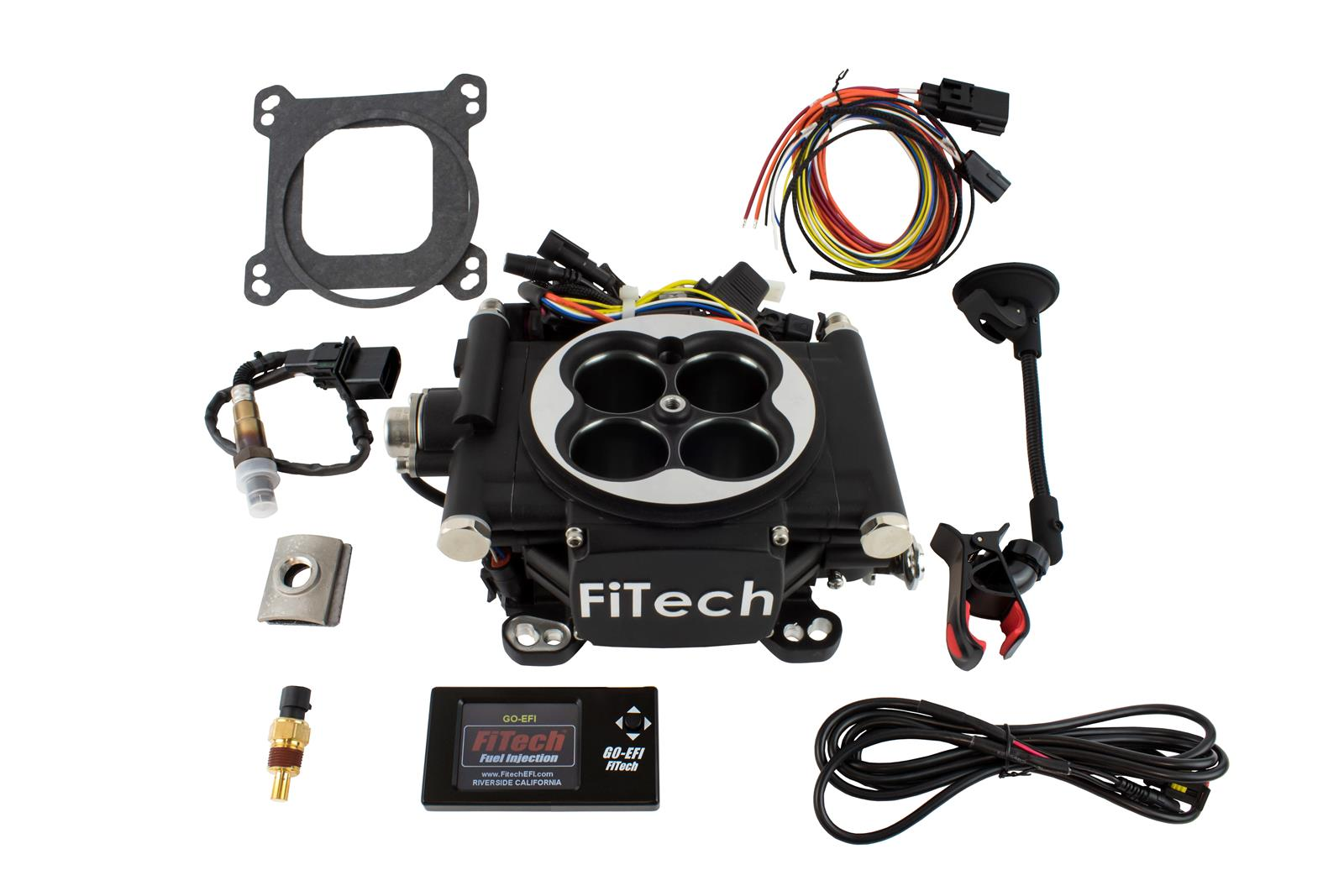 Fitech Go Efi 4 600 Hp Self Tuning Fuel Injection Systems 30002 Tbi Wiring Diagram Free Shipping On Orders Over 99 At Summit Racing