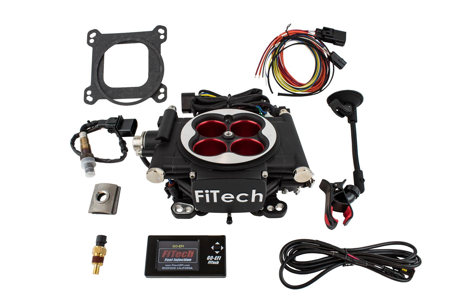 FiTech Go EFI 4 Power Adder 600 HP Self-Tuning Fuel Injection Systems 30004