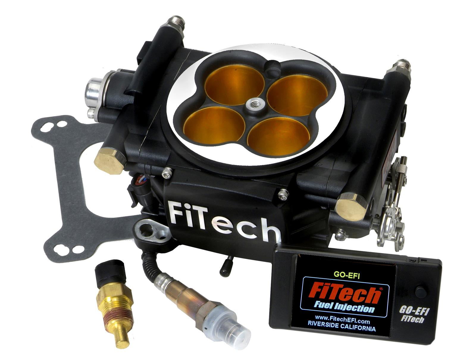 fitech go efi 8 power adder plus 1200hp fuel injection systems 30012 free shipping on orders. Black Bedroom Furniture Sets. Home Design Ideas