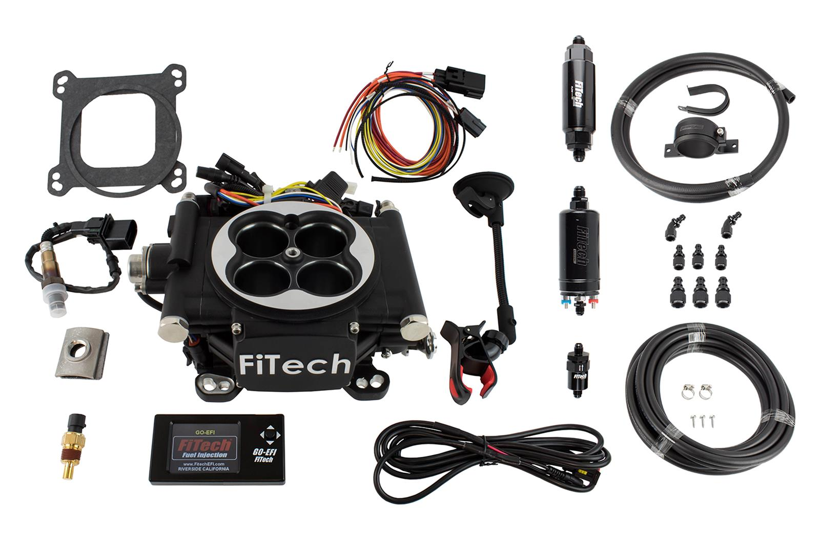Fitech Go Efi 4 600 Hp Self Tuning Fuel Injection Systems 31002 Ignition Circuit Diagram For The 1949 54 Nash All Models Free Shipping On Orders Over 99 At Summit Racing