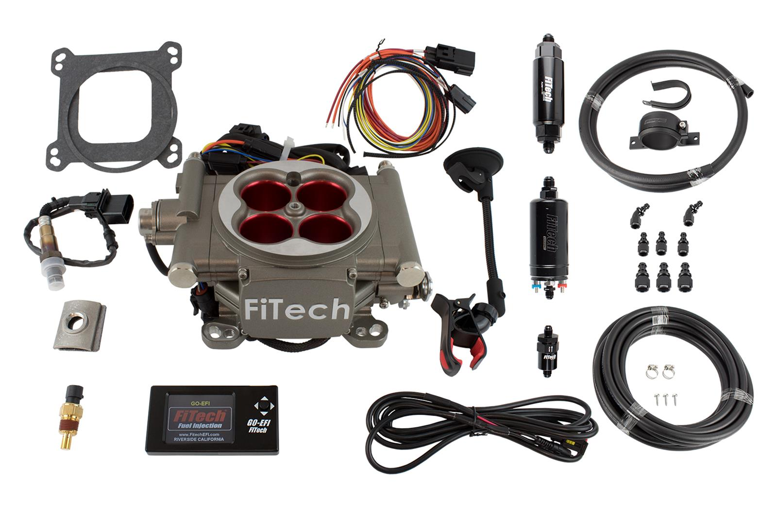 FiTech Go Street EFI 400 HP Self-Tuning Fuel Injection Systems 31003