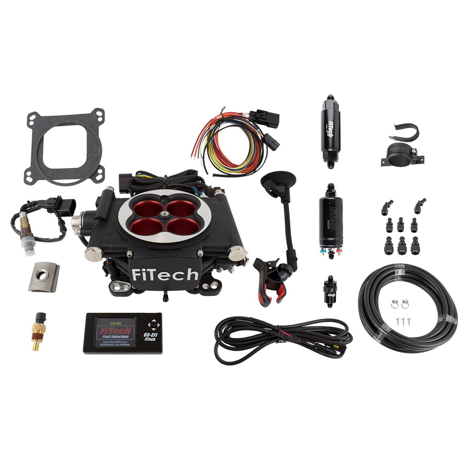 FiTech Go EFI 4 Power Adder 600 HP Self-Tuning Fuel Injection Systems 31004
