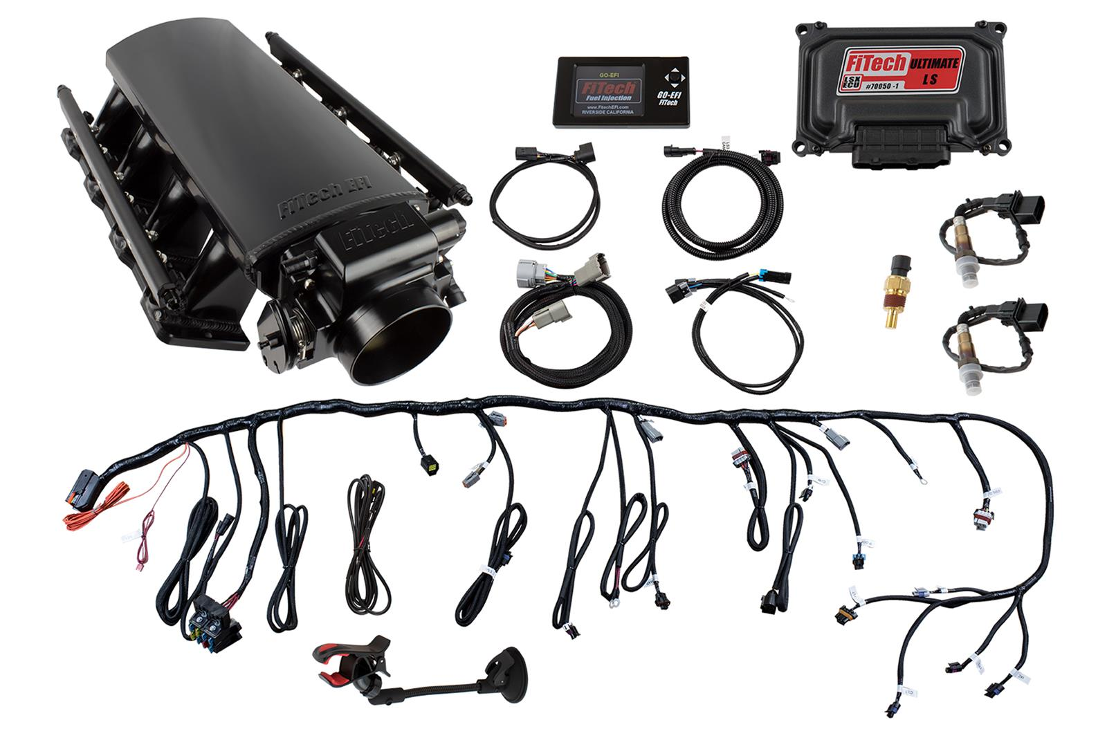 Fitech Ultimate Ls Efi 750 Hp Fuel Injection Systems 70004 Free Wiring Harness Kit For 5 0 Engine 2 Shipping On Orders Over 99 At Summit Racing