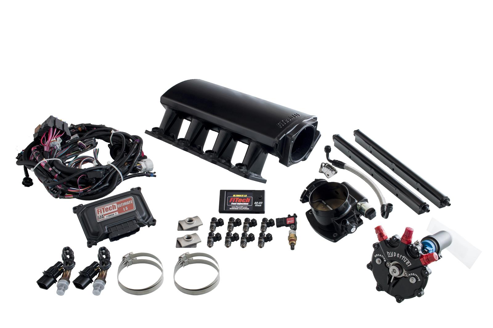 FiTech Ultimate LS EFI 750 HP Fuel Injection Systems with Hy-Fuel 74004