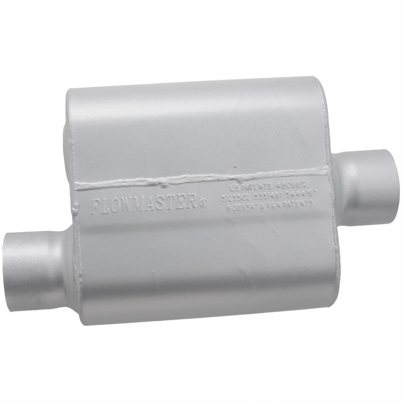 Single chamber flowmaster muffler