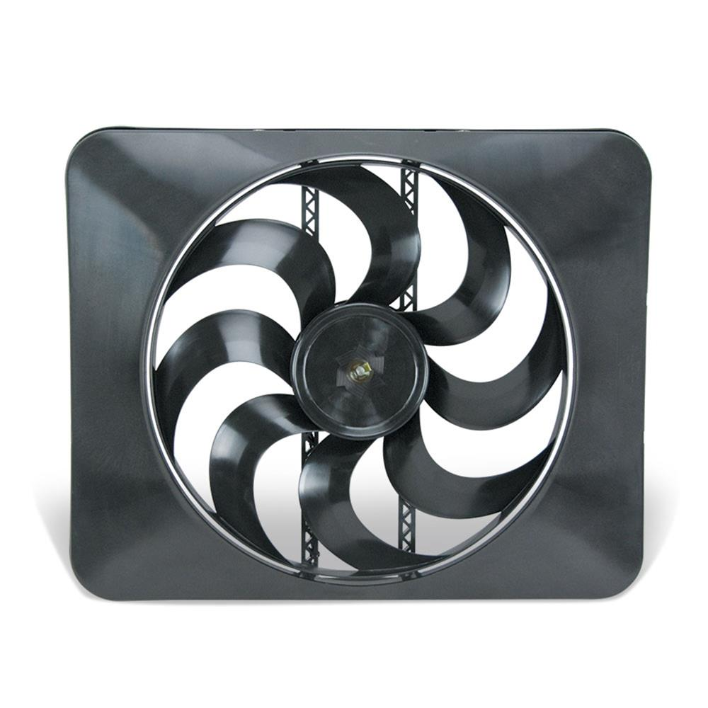 Flex A Lite Black Magic Xtreme Series Electric Fans 180 Free Pusher Ac Fan Wiring Shipping On Orders Over 49 At Summit Racing