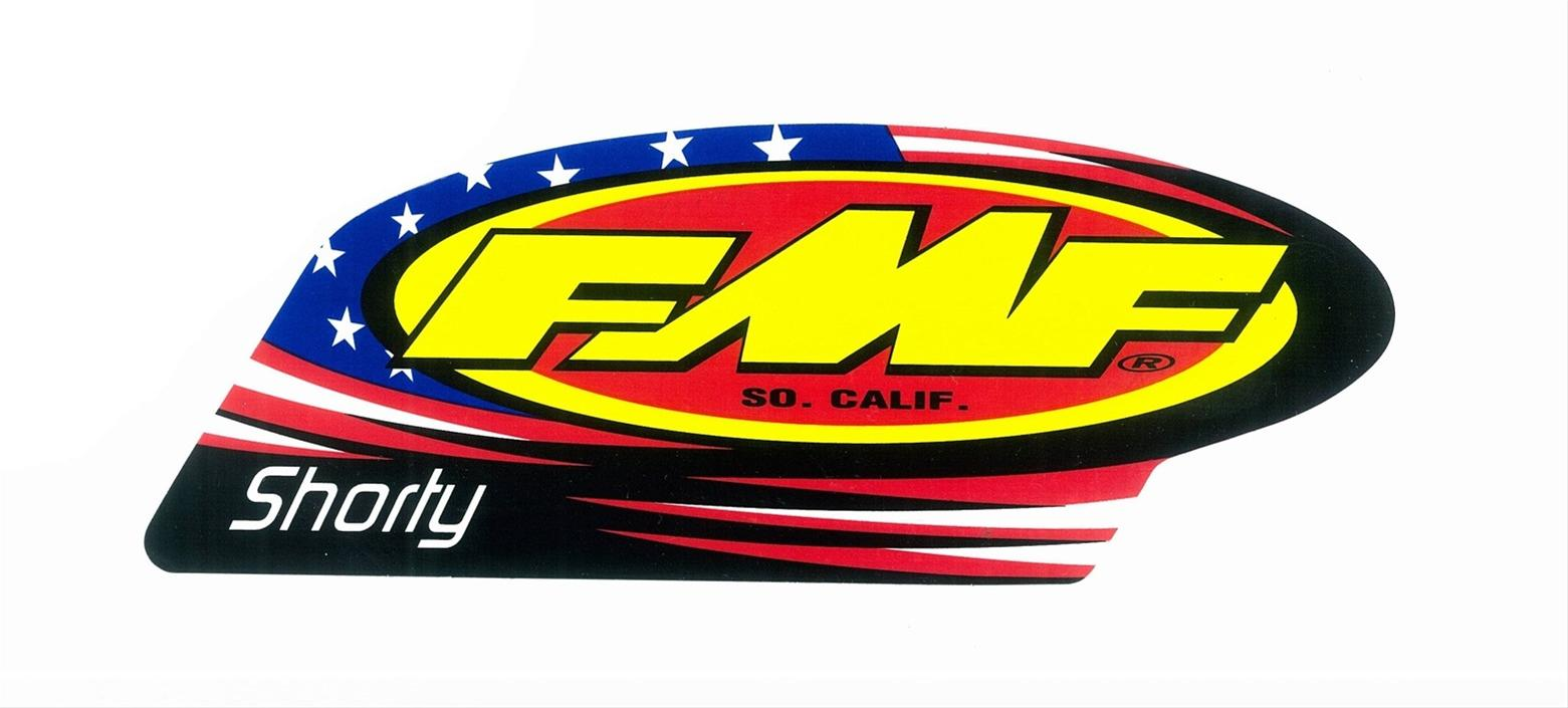 Custom Decals For Trucks >> FMF Racing Replacement Exhaust Decals 012696 - Free Shipping on Orders Over $99 at Summit Racing