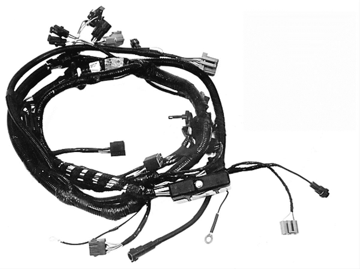 Ford Performance Parts 302 351w Multiport Efi Wiring Harnesses M 12071 C302 Free Shipping On Orders Over 99 At Summit Racing